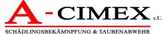 A-Cimex e.U. - Schädlingsbekämpfung und Taubenabwehr Linz